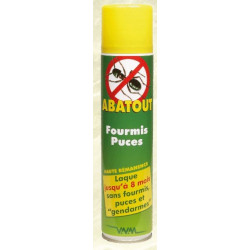 ABATOUT ANTI-FOURMIS, PUCES - 405ml