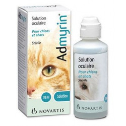 ADMYRIN solution oculaire 118ml chiens chats