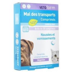 VETOFORM mal des transports chien et chat