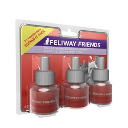 feliway friends pack de 3 recharges 48ml