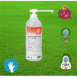 ASEPTILINE® Soap 500ml avec pompe