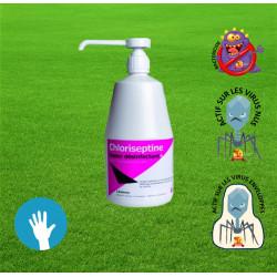 CHLORISEPTINE® Savon Désinfectant 1 litre avec pompe