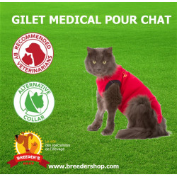 gilet médical de protection pour chat