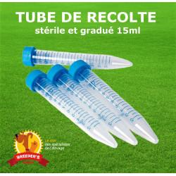 Tube de récolte stérile 15ml