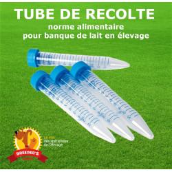 Tube stérile 15ml - Congélation lait collecté
