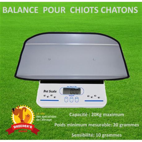 BALANCE POUR CHIOTS ET CHATONS