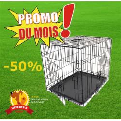 PROMOTION -40% - Cage pliable Grise